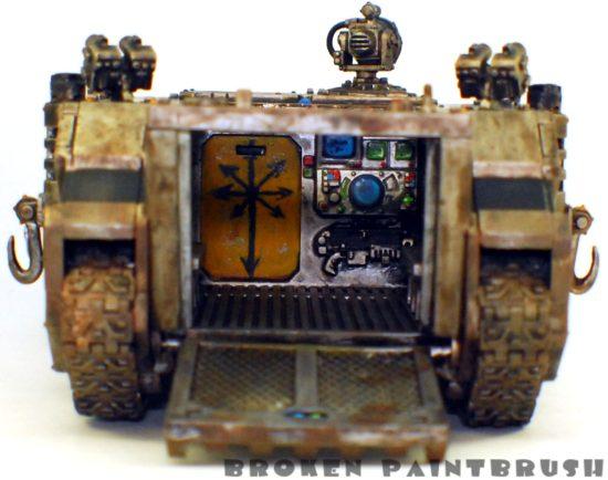 Iron Warriors Rhino #1 - back