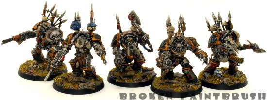 Iron Warrior Terminator Squad 4
