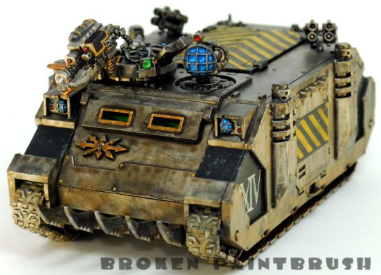 Iron Warriors Rhino 4 - Left