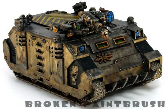 Iron Warriors Rhino 4 - Right