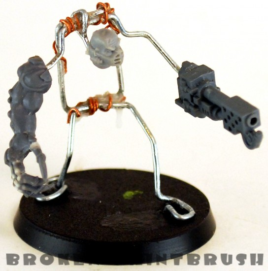 Second Sculpted Obliterator - The Build Up - Wire Frame