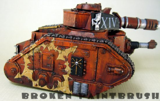 Traitor Leman Russ WIP - Sign of Chaos
