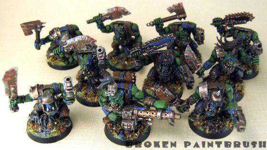 Ork Boyz Squad 1 - Top