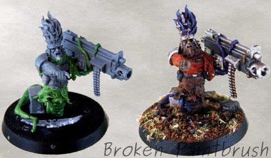 Traitor Guard Heavy Bolter Mutant