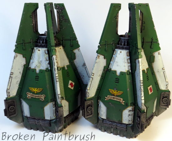 Mentor Legion Drop Pods