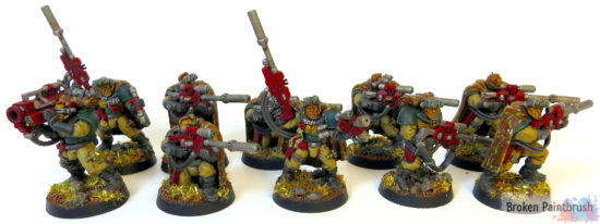 Mentor Legion Scout Squad with Sniper Rifles