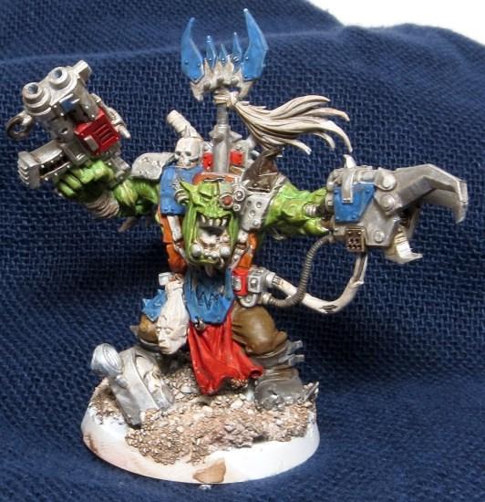Deff Skulls Ork Warboss WIP