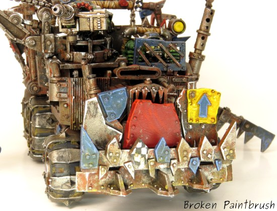Close up of Ork Trukk Grill