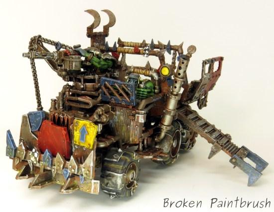 40k Ork Trukk Front