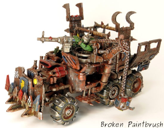 How to Paint Ork Trukk Final Step