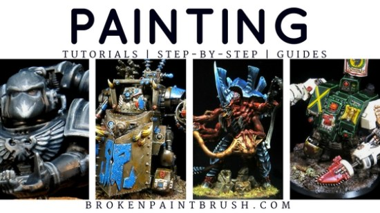 Painting Tutorials and Guides
