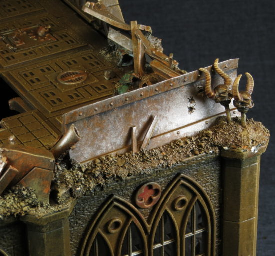 Pegasus Gothic Buildings for 40k Ruble