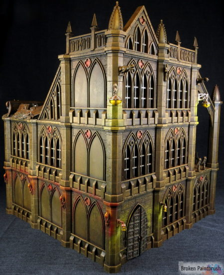 tall Pegasus Gothic Buildings for 40k