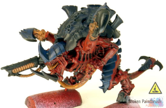 How to Paint a Carnifex Brown Wash