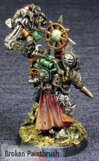 Dark Mechanicus Tech Priest