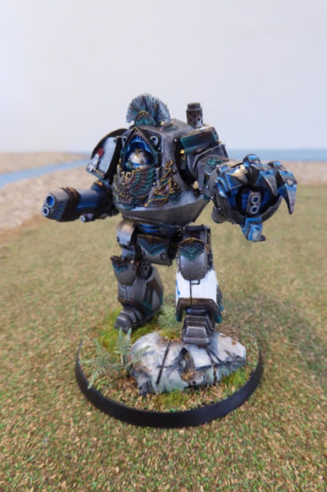 Iron Snakes Contemptor by M4cr0 on Old School Gaming