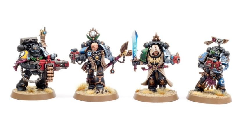 Deathwatch by Garfy on how he paints his bases