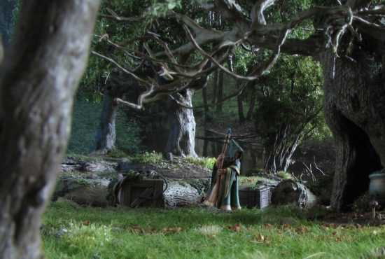 Yew Trees by Dagger and Brush
