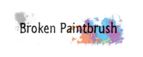 Broken Paintbrush