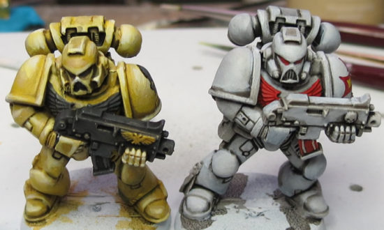 Models painted by Dave G.