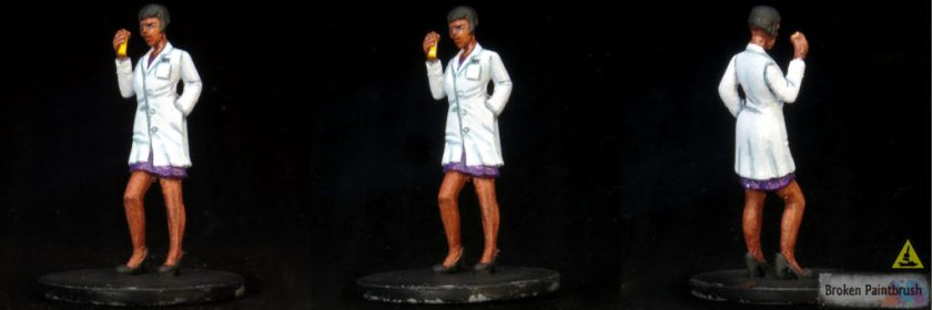 Paint Kate Winthrop Labcoat