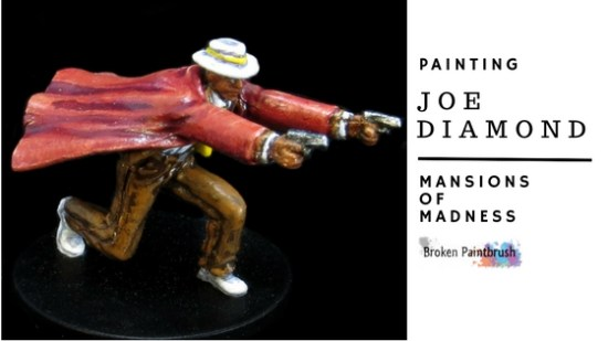 How to Paint Joe Diamond from Mansions of Madness