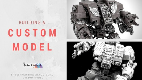 Tutorial on building a custom model with bit bashing and scuplting