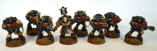How to convert and paint legion of the damned
