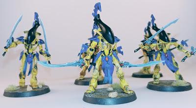 Weathered Wraithblades of Iyanden