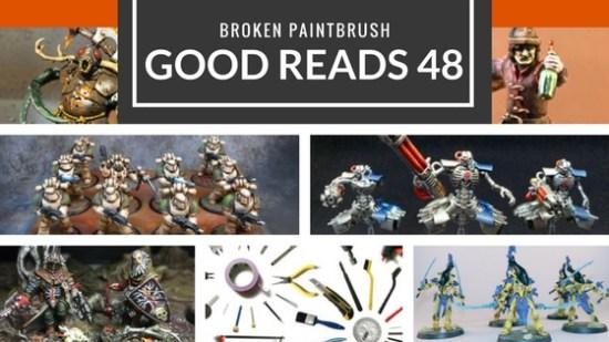 Good Reads 48 of Broken Paintbrush