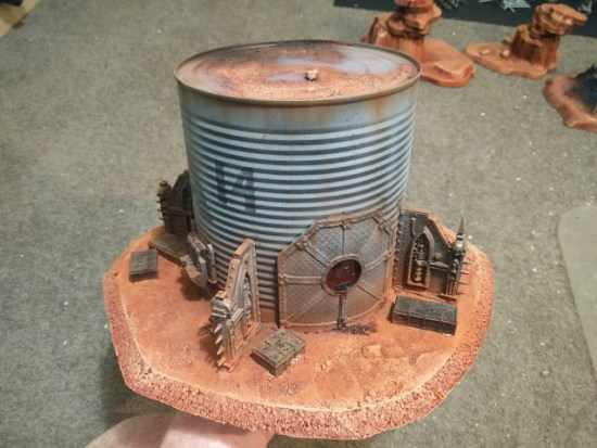 DIY Terrain Build from Tin Can and Bits
