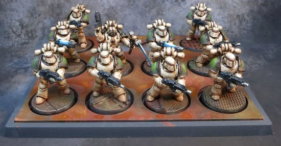 Death Guard Kill Team for 30k by Greggles