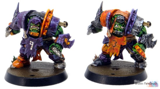 Lineman for Ork Blood Bowl Team