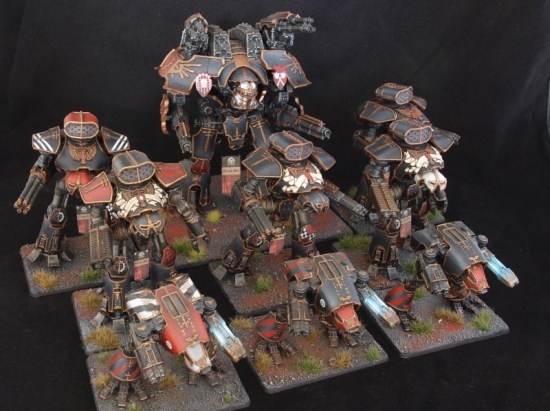 Legio Mortis Titan Maniple for Epic