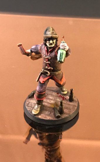 Heroforge Bard 3D Printed hero for DnD
