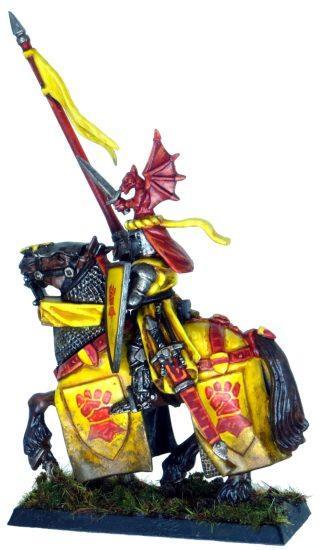 Yellow Bretonnian Knight of the Realm