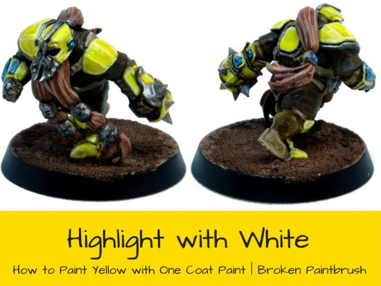 Highlight Yellow with White