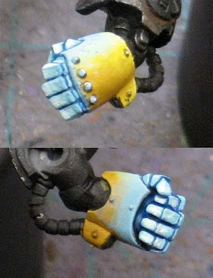 How to Paint a Glowing Power Fist