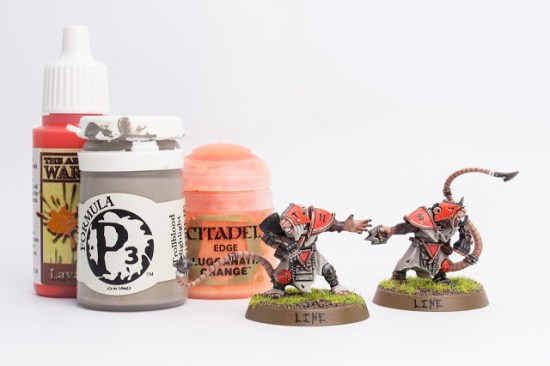 Painting the Skaven Blood Bowl Team