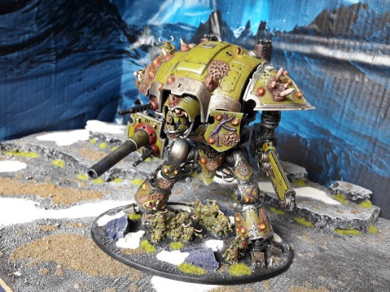 Converted Nurgle Knight Titan