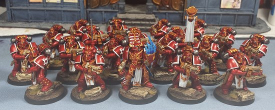 Thousand Sons Tactical Squad