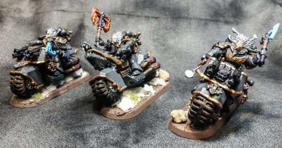Space Wolf Bikers
