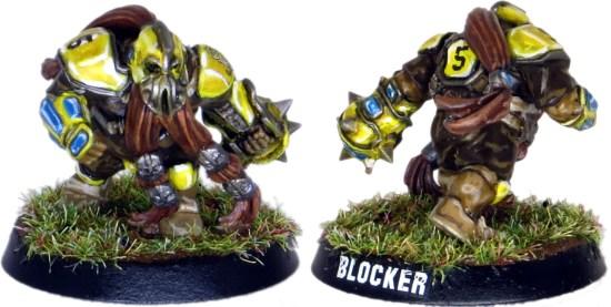 Dwarf Blood Bowl Blocker #5