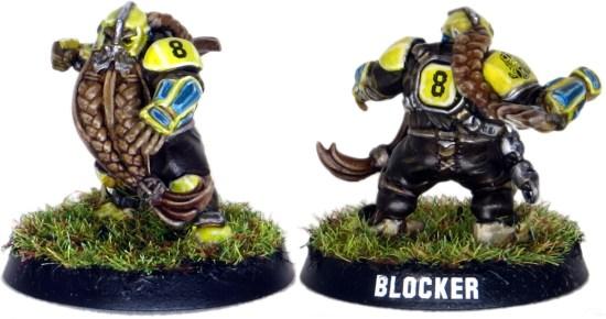 Dwarf Blood Bowl Blocker #8