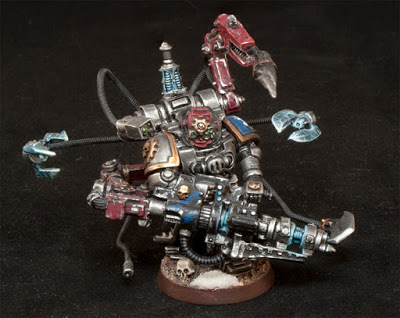 Astral Claws Techmarine with conversion beamer