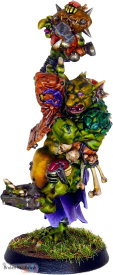 Blood Bowl Troll Front