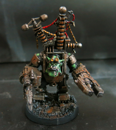 Big Mek Conversion with Kustom Force Field