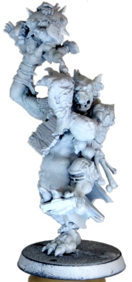 Priming the Blood Bowl Troll White