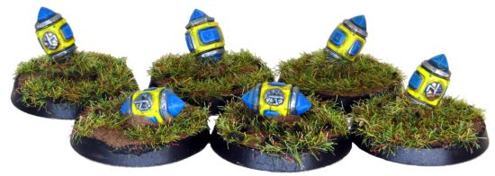 Dwarf Ancestor Blood Bowl Balls