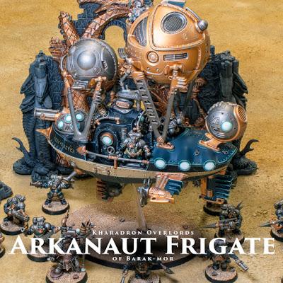 Kharadron Overlords Arkanaut Frigate